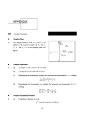 Appendix Differential Equations and Linear Algebra