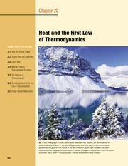 20 - Heat and the First Law of Thermodynamics