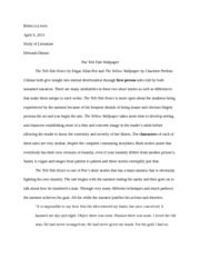 essay the yellow wallpaper  priya patel final paper the role of   pages short story essaythe telltale wallpaper