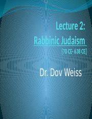 Rabbinic Judaism
