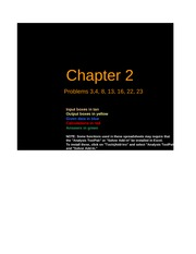 Copy of Chapter 2 Finance HWK