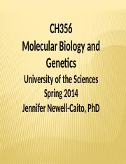 Topic 1- Introduction_to_Genetics _Spring 2014