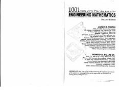 1001 Solved Problems In Electrical Engineering By Romeo Rojas Download