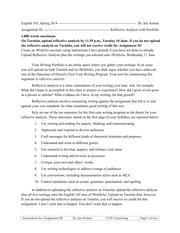 English 103- Assignment III Instructions