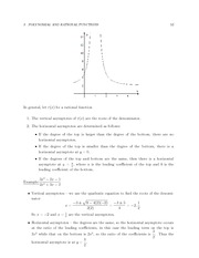 MATH 3 FAll 2011 Asymptotes Notes
