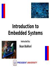 Introduction to Embedded Systems_Week_9B_Interrupts and