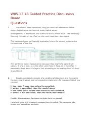 W05.13 1B Guided Practice Discussion Board.docx