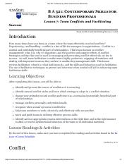 BA321 - Lesson 7 Online Notes