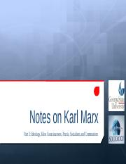 Notes on Marx Part 3 Fall 2015.pptx