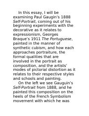 Gaugin and Braques