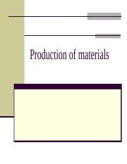Production_of_materials