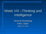 Lecture+IX+-+Thinking+and+Intelligence+Mar+21+2013