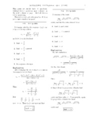 11.1 Sequences-solutions