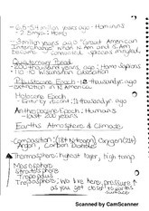 Environmental Science  Notes