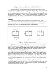 Chapter 6--Capacitors, Inductors and LC Circuits