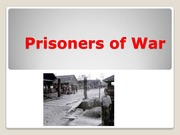 Socials 11 Prisoners of War PP