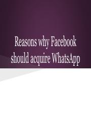 Reasons why FB should acquire WA.pdf