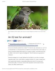 IQ_Test_For_Animals