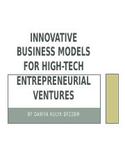 The organizational design challenges in high-tech entrepreneurial ventures