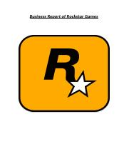 Rockstar business report