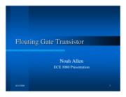 9-Noah Allen-Floating Gate Transistor