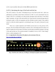 LCP 9 AGE OF THE  EARTH, SUN (1).doc