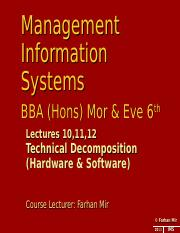 MIS BBA(Eve) & BBA (Morn) 6th Lec 101112.ppt