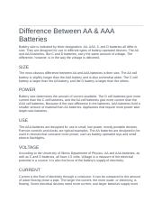 Difference Between AA and AAA.docx