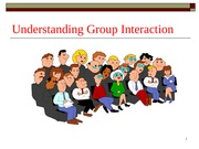 Chapter 8 group dynamics