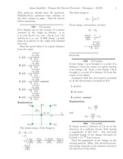 Quest 13 - Chapter 23 - Electric Potential Solutions