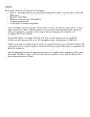 Crime Scene Forensics Chapter 2 Notes.docx