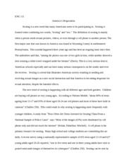 7 pages Sexting Essay eng 111