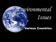 Environmental issues(Assignment)