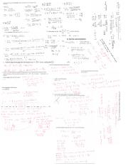 calculus 1 final cheat sheet