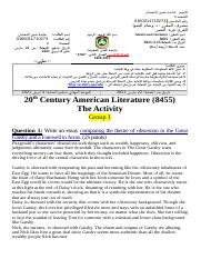 20th+Century+American+Literature-+group+1.docx