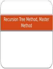 Recursion_tree_Master_method