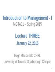 MGTA01 - S15 - Lecture THREE - Understanding the Environments of Business (1)