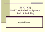 Lecture 2 Task Scheduling Single