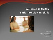 Basic Interviewing PP1