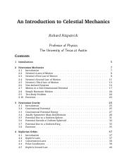 Celestialmechanics-RICHARD FITZPATRIC