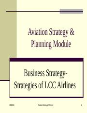 Chap 6-2 Business Strategy- operational Strategy of LCC airlines.ppt