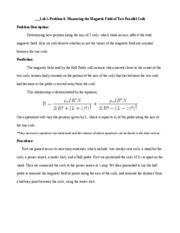 Physics lab 5 report