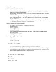 CHEM 1211 Chapter 8 Notes