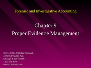 5Ed_CCH_Forensic_Investigative_Accounting_Ch09
