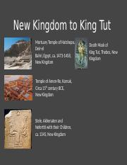 01.25 - New Kingdom to King Tut