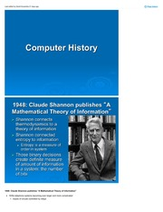 Computer history 1940-1990 History of Media Arts II VM-101-02