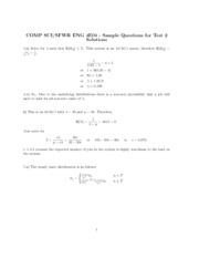 Solutions to Practice Problems 2