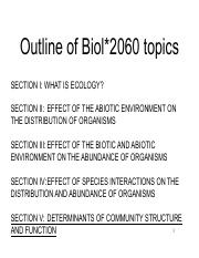 Ecology Lecture 24 Nov 16 2016