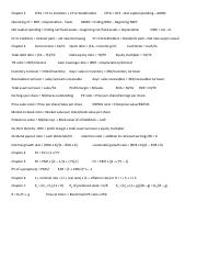 Fina 301 Equation Sheet