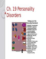 Ch. 19 Personality Disorders-student.pptx